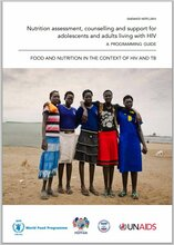 Nutrition Assessment, Counselling And Support For Adolescents And Adults Living With HIV