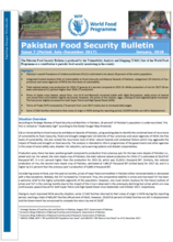 Pakistan - Food Security Bulletins, 2018