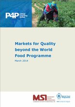 Markets for Quality beyond the World Food Programme