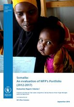 Somalia: An Evaluation of WFP's Portfolio (2012-2017)