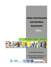 South Sudan - Urban Food Security and Nutrition Assessment in Juba, February 2018