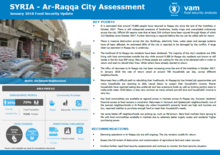 Syrian Arab Republic - Ar-Raqqa City Assessment, January 2018