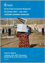 Syria Lessons Learned Summary Report