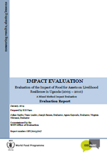 Food for Assets on Livelihood Resilience in Uganda: An Impact Evaluation