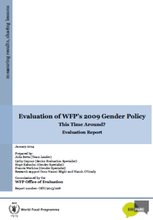 WFP Gender Policy: A Policy Evaluation