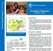 WFP Ukraine Situation Report #04, 23 October 2014