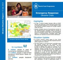 WFP Ukraine Situation Report #07, April-May 2015