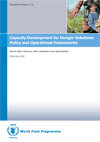Occasional Paper 21 - Capacity Development for Hunger Solutions: Policy and Operational Frameworks - S.W. Omamo, H. Johnstone, U. Gentilini