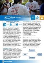 WFP Myanmar: HIV/TB Programme