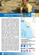 WFP Myanmar: Rakhine Operational Brief