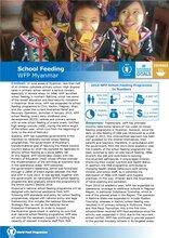 WFP Myanmar: School Feeding