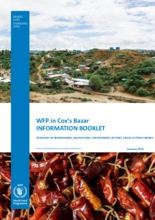 WFP Bangladesh – Cox's Bazar Information Booklet – January 2021