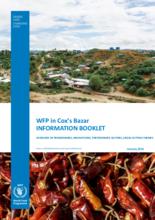 WFP Bangladesh – Cox's Bazar Information Booklet