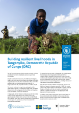Building resilient livelihoods in Tanganyika, Democratic Republic of Congo (DRC)