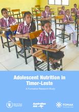 2019 - Timor Leste - Adolescent Nutrition