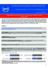 WFP Armenia - Comprehensive Food Security and Vulnerability Analysis 2019