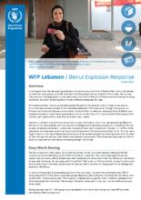 WFP Lebanon - Beirut Explosion Response Factsheet