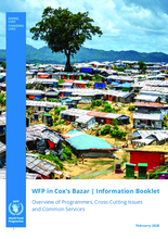 WFP in Cox's Bazar Information Booklet