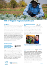 2021 - WFP in UN Joint Programme in Malawi, May 2021