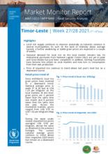 WFP Timor Leste - Market Monitor  wks 27/28 2021( 5–18 July)