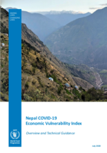 Nepal COVID-19  Economic Vulnerability Index