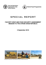 Syria Crop and Food Security Assessment Mission