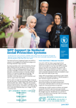 WFP Lebanon - Support to National Social Protection Systems - June 2021
