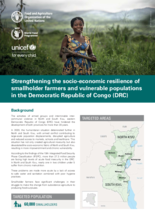 DRC: Strengthening the socio-economic resilience of smallholder farmers and vulnerable populations - 2021