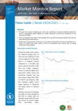 WFP Timor-Leste - Market Monitor - 7-20 June 2021