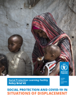 Social Protection and COVID-19 in Situations of Displacement - 2020