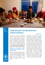 Kyrgyz Republic – Food Security Situation - 2021