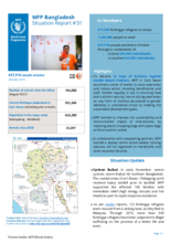 WFP Bangladesh - Situation Report No. 31