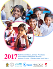 2017 - National Status, Dietary Practices and Pattern of Physical Activity among School Children Aged 6 - 12 years