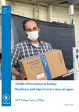 August 2020 – COVID-19 Pandemic in Turkey: An Assessment of Readiness and Impact on Refugees Living in Camps
