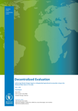 Sri Lanka, Addressing Climate Change Impacts on Marginalized Agricultural Communities Living in the Mahaweli River Basin (2013-2020): Evaluation