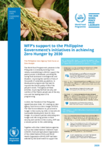 WFP's Support to the Philippines Government's Initiatives in Achieving Zero Hunger by 2030 - 2020
