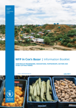 WFP Bangladesh – Cox's Bazar Information Booklet – July 2021