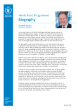 WFP Executive Director David Beasley - Biography - 2020