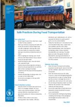 Bhutan Transportation Food Safety Guideline