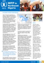 2017 - WFP Nigeria Factsheets