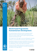 2019 - WFP : Humanitarian Development