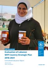 Evaluation of Lebanon WFP Country Strategic Plan 2016-2019