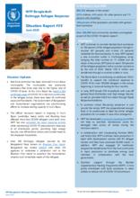 WFP Bangladesh  - External Situation Reports 2020