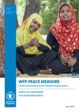 WFP Bangladesh –Cox's  Bazar Social Cohesion and Peace Measurement Report