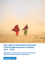 Inter-Agency Humanitarian Evaluation of the Drought Response in Ethiopia 2015 - 2018