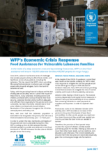 WFP Lebanon - Economic Crisis Response for Vulnerable Lebanese