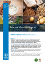 Timor-Leste - Price Monitoring Report - wk 30-31 2020