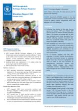 WFP Bangladesh - Cox's Bazar - Situation Reports - 2020