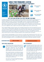 World Food Programme Lesotho 2020 Annual Country Report Highlights