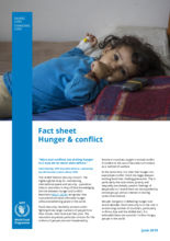 2019 - Hunger and Conflict factsheet